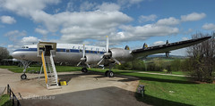 """Lockheed Constellation: """"The Queen of the Skies""""! (Angle-of-Attack) Tags: museum airplane aircraft aviation preserved lockheed lufthansa dalin constellation 4604 2013 hermeskeil flugausstellung l1049g"""