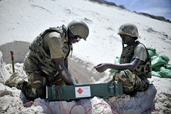 Safe Disposal of Captured Munitions by AMISOM (United Nations Photo) Tags: africa au explosion demolition explosives uxo somalia burundi africanunion mogadishu updf unmas amisom bndf auunist burundinationaldefenseforce tobinjones