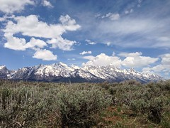 Grand Tetons (Tom F Hawkins) Tags: day cloudy grandtetonnationalpark uploaded:by=flickrmobile flickriosapp:filter=nofilter