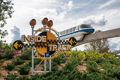 Monorail Monday (Dave Kliment | ExploringWDW) Tags: epcot monorail waltdisneyworld testtrack