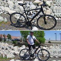 My new hybrid bike (GioPhotos) Tags: bike bicycle giant mountainbike hybrid guyonbike commuterbike hybridbike