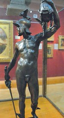 Frederick William Pomeroy (1856-1924) - Perseus with the Head of Medusa (1898), front 1, Ashmolean Museum, Oxford, May 2013 (ketrin1407) Tags: sculpture statue bronze naked nude erotic victorian mythology statuette sensuous newsculpture fwpomeroy