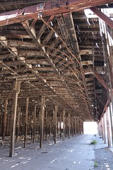 The drying station (tomman) Tags: railroad yards urban yard train foundry factory decay albuquerque rail tvshowlocation railyard boiler filmlocation revitalize macgruber breakingbad terminatorsalvation