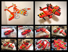 sabertooth_process (nate_decastro) Tags: airplane lego aircraft fantasy moc skyfi dieselpulp