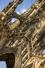 Deviated Walter Scott (Diego Almazn) Tags: scotland edinburgh scottmonument walterscott
