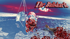 bullshark blue pink (sonya77pro) Tags: photoshop puppy movie fire graphicdesign blood funny kill adobephotoshop arm bull bulldog crack filter adobe ugly gradient horror terror mean englishbulldog bloody