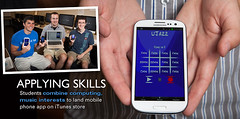 Students design iPhone app (Northwest Missouri State University) Tags: college students education university missouri computerscience academics iphone maryville northwestmissouristate