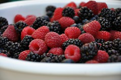 Fresh Berries (sfPhotocraft) Tags: california red black fruit berries brunch sonomacounty rasberries blackberries healdsburg freshberries