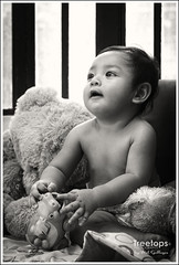"""Little Pancho"" (mel gallegos) Tags: blackandwhite baby portraits canon photography eos portraitures 60d"