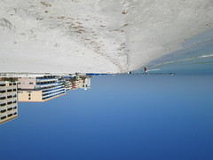 Different perspective (727oceanview) Tags: ocean blue beach buildings weird interesting different perspective down hotels upside