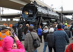 Mass Pandemonium! (jterry618) Tags: railroad minnesota wisconsin duluth steamengine steamlocomotive passengertrain milwaukeeroad261 steamexcursion nationaltrainday sooline2719
