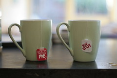 Squeeze me, hot stuff (hazel.jane) Tags: cute love cup tea sweet mug loch lochearn plumtreecottage
