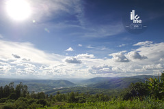 From Mt. Kigali (illume-cs) Tags: africa blue sky green clouds afternoon kigali rwanda hills valley spaces nyabarongo