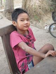 Dadeiko sitting (offthebeatenboulevard) Tags: thailand orphanage volunteering maesot burmeseborder