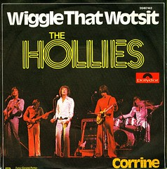 51 - Hollies, The -  Wiggle That Wotsit - D - 1976 (Affendaddy) Tags: germany 1976 corrine polydor thehollies vinylsingles collectionklaushiltscher wigglethatwotsit 2040162 1960s70sbeatpop