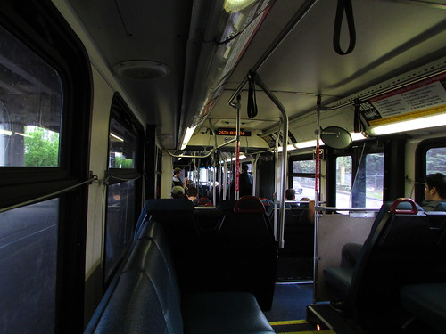 King County Metro 2004 New Flyer DE60LF interior (2800)