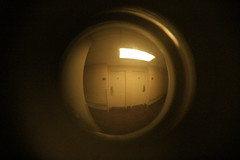 (davidfrostyh) Tags: home doors halls security spy temporary spyhole