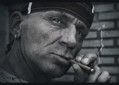 Untitled (chromik) Tags: portrait man men face mann photoart mnner visage gesichter chromik dchro