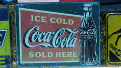 Ice Cold Coca-Cola (Gerard Donnelly) Tags: sign coke cocacola enseigne