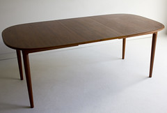 Danish Modern Teak Dining Table (theswankyabode.com) Tags: wood leaves norway modern century table denmark sweden furniture hans retro danish dining vinage finn larsen mid swanky scandinavian ib abode midcentury teak mcm wegner juhl 1970s 1950s 1960s kofod wwwtheswankyabodecom