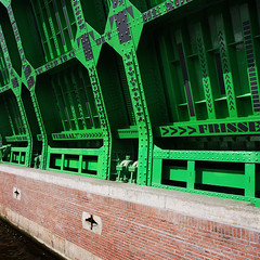 something green and poetic (Harry -[ The Travel ]- Marmot) Tags: old city bridge urban holland green water netherlands dutch amsterdam square typography groen open steel capital nederland poetic literature stedelijk type nl brug typo mokum oud stad hollands waterway kostverlorenvaart stads kostverlorenkade stadsarchief typografie ophaalbrug vierkant staal 500x500 literatuur waterweg hoofdstad poetisch vaartocht capitalofthenetherlands capitalofholland genageld