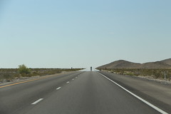 Mirage (kerolic) Tags: california road desert mirage opticalillusion