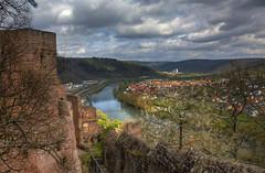 Spring in Wertheim (pe_ha45) Tags: castle main burg wertheim badenwrttemberg