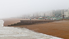 Brighton on a foggy day :) (ed 37 ~~) Tags: greatbritain england beach water canon buildings brighton day britain great foggy eastsussex ef24105mmf4lisusm canoneos5dmarkii