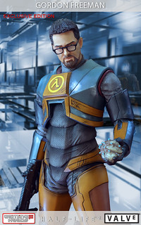 Half-Life 2高登博士立體化