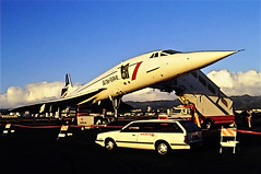 British Airways Concorde SST (Brian Howell) Tags: transport jet super sonic concorde british ba airways sst