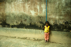 Wall (Tapas Biswas) Tags: life morning travel india color colour girl face childhood kids children outdoors kid nikon day child image artistic candid indian creative culture craft streetlife portraiture hindu emotions bengal bengali artisticphotography westbengal candidphotography realpeople d90 oneboyonly nikond90 onlyindian nikod90 nikond9o