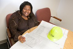 D5657_CM-74 (MoDOT Photos) Tags: hardhat female tamara missouri plans engineer employee pitts multimodal modot bycathymorrison