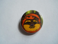 Yub Nub Pin (CyanideSweetheart) Tags: bear original art illustration forest rebel one star 1 vegan inch pin heart teddy sweet craft ewok badge return empire button jedi wars sweetheart etsy muppet cyanide lainey wickett sweethrt cyanidesweetheart