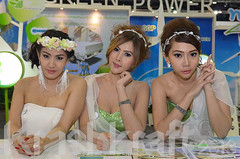 Bangkok Motor Show (krashkraft) Tags: coyote beautiful beauty thailand pretty bangkok gorgeous autoshow motorshow 2012 racequeen gridgirl boothbabe krashkraft