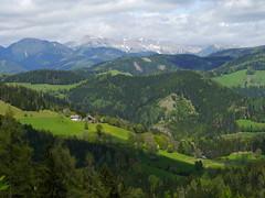 Das grüne Herz Österreichs  /  The green heart of Austria (rudi_valtiner) Tags: mountains meadows wiesen berge forests steiermark styria veitsch wälder bründlweg pogusch mürzstegeralpen rauschkogel