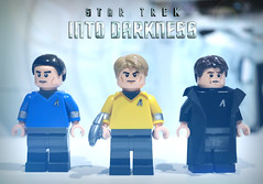 LEGO Star Trek Into Darkness (MGF Customs/Reviews) Tags: chris pine trek star jj darkness lego review spock figure zachary khan custom abrams kirk imax quinto benedict into cumberbatch