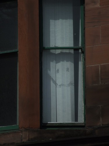 Smiling ghost face