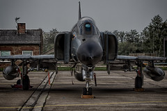 German Air Force McDonnell Douglas F-4F Phantom II (Rami Khanna-Prade) Tags: red mess with smoke low von pass may 8 71 smoking ii lucky eurofighter smokey smoky phantom beret tornado typhoon baron albatross manfred parachute fokker spook luftwaffe braking spotters afterburner panavia richtofen f4f wittmund 2013 3701 3810 ef2000 pharewell