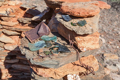 100 Year Old Relicts (Serendigity) Tags: glass mine desert rusty australia mining bolt outback pioneer northernterritory fragments relicts arltunga historicalreserve eastmacdonnellranges jokergoldmine