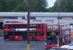 Stagecoach London Plumstead (AM)  bus garage 13/05/13. (Ledlon89) Tags: bus london buses transport depot busgarage londonbus tfl plumstead stagecoachlondon