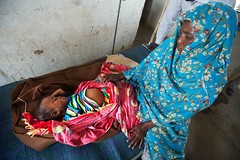 Humanitarian crisis in El Sereif (UNAMID Photo) Tags: hospital sudan patient health tribes reconciliation fighting darfur doctors disease arabs malaria displacement hepatitis goldmine idp northdarfur internallydisplacedpersons unamid tribalclashes massdisplacement elsereif