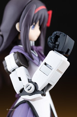 Prosthetic limbs (1) (wata1219) Tags: anime girl japan real toy arm models artificial grade plastic figure limbs gundam rg akemi prosthetic  bfigure jfigure homura  gunpura figma