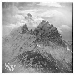 storm_bw_02 (StephenWilliDesigns) Tags: blackandwhite snow storm mountains weather jackson wyoming tetons grandteton jacksonhole grandtetonnationalpark