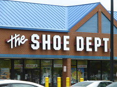 The Shoe Dept. in Wooster, Ohio (Fan of Retail) Tags: road ohio retail mall shopping shoe center burbank stores department wooster milltown 2013
