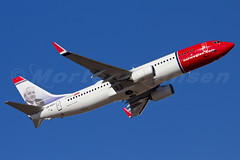 Norwegian Air Shuttle Boeing 737-8JP Copenhagen - Kastrup (CPH / EKCH) (Morten Hansen Aviation photography) Tags: plane copenhagen airplane denmark aircraft air tail low wing cost engine cockpit gear off rednose norwegian airline dk shuttle airbus take rudolph boeing cph ge departure 777 kopenhagen 747 airliner kbenhavn lufthavn 767 737 kastrup 727 fuselage cfm ekch