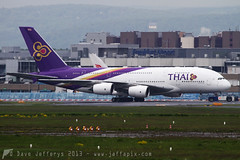 HS-TUC A380 Thai Airways (JaffaPix) Tags: airplane flying frankfurt aircraft aviation flight aeroplane airline thai airbus a380 fra airliner tha tg 380 thaiairways frankfurtairport eddf hstuc