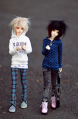 Shut up! (Army-of-Me) Tags: classic ball asian doll bjd dreamer abjd 401 msd jointed narin bimong n401