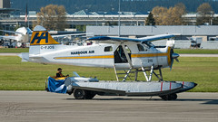 C-FJOS - Harbour Air - DHC-2 Beaver (bcavpics) Tags: canada vancouver plane airplane britishcolumbia aircraft aviation beaver yvr harbourair seaplane floatplane dehavilland dhc2 cam9 cfjos