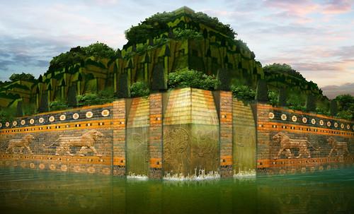 "Jardines colgantes de Babilonia • <a style=""font-size:0.8em;"" href=""http://www.flickr.com/photos/30735181@N00/8745405590/"" target=""_blank"">View on Flickr</a>"