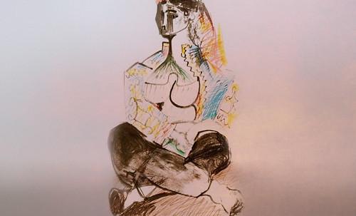 """Odaliscas (Mujeres de Argel) yuxtaposición y deconstrucción de Pablo Picasso (1955), síntesis de Roy Lichtenstein (1963). • <a style=""""font-size:0.8em;"""" href=""""http://www.flickr.com/photos/30735181@N00/8748004950/"""" target=""""_blank"""">View on Flickr</a>"""